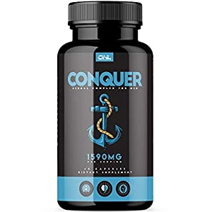 Conquer | #1 Premium Fertility Supplement for Men (60 Capsules) - Support Sperm Count, Motility, Volume - All Natural Energy Booster - Healthy Herbal Complex - 1 Month Supply natural male fertility supplements - 41Y1VpYzAvL - natural male fertility supplements