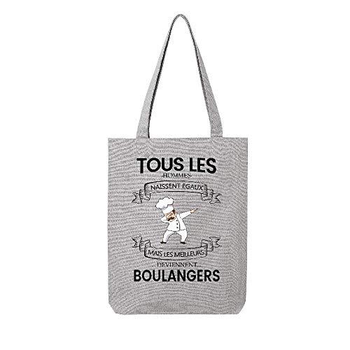 Mais Hommes Gris Deviennent Tote Egaux Lookmykase Boulangers Meilleurs Naissent Tissus Tous Les Lmk T8w6q4X