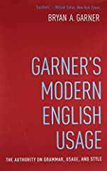 With more than a thousand new entries and more than 2,300 word-frequency ratios, the magisterial fourth edition of this book-now renamed Garner's Modern English Usage (GMEU)-reflects usage lexicography at its finest. Garner explains the nuanc...