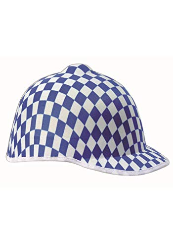 Forum Jockey Adult Blue Checker Racer Hat Adult One -