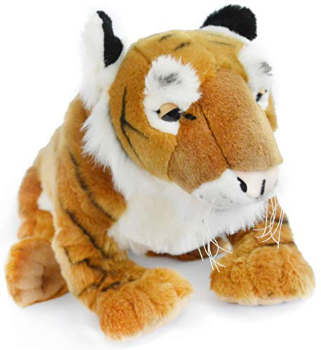 VIAHART Trang The Indochinese Tiger | Huge 3 Foot Long Tiger Stuffed Animal Plush Cat | Great for Cuddling and Bedtime Stories! | Shipping from Texas | by Tiger Tale Toys