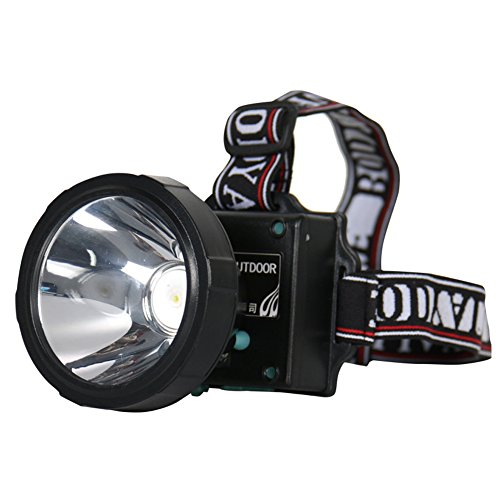 Luwint Ultra Bright Cree T6 Led Headlamp With 2 X 18650 Rechargeable Batteries And 1 Charger  White Light