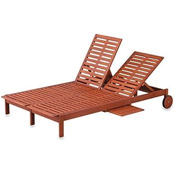 Amazon Com Eucalyptus Double Chaise Lounge 2 Color