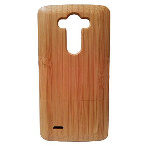 - Natural Bamboo Deluxe Bamboo Case Cover Shell Skin for Lg G3 D850 D851 D855 Genuine Case