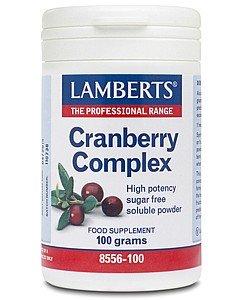 LAMBERTS COMPLEJO DE ARANDANOS (CRANBERRY) 100 grs.