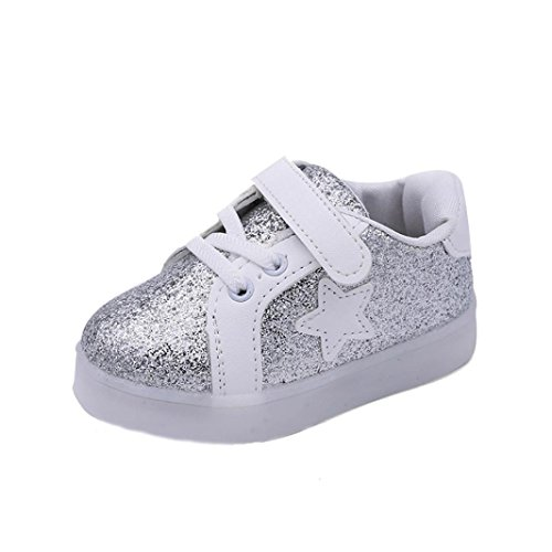 Moonker Baby Shoes,Toddler Baby Boy Girl Bling Star Sneakers