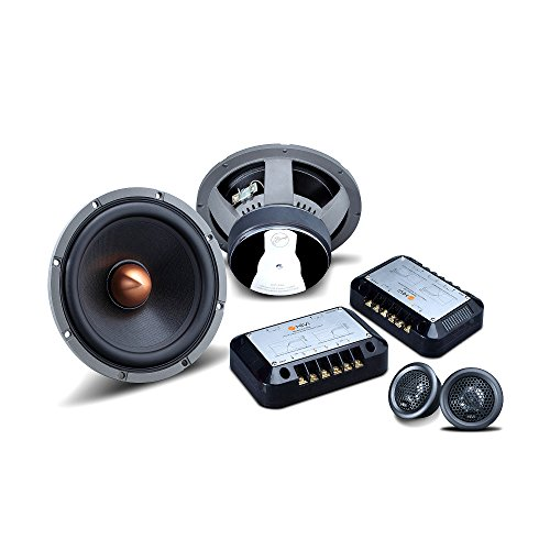 HiVi - KX265 - Car Audio Speakers - High End Car Audio Drivers Kit - High Performance Drivers - Natural Sound Reproduction - Includes Two 6.5'' Woofers & Two 1'' Dome Tweeters - Easy Installation by HiVi Acoustics