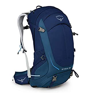 Osprey Stratos 34 Backpack Men eclipse blue Size M/L 2021 outdoor daypack 5