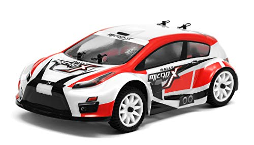 Exceed RC MicroX Racing 1/24 Micro Scale Rally Car Ready to Run 2.4ghz (Red) (Best Rc Rally Car)