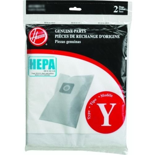 Pack Windtunnel Filter 2 (Hoover WindTunnel Y HEPA Pleated Vacuum Filter Bags 2 pack AH10040 902419001)