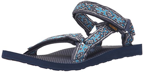 Teva Mens Sandalo Universale Originale Old Lizard Insignia Blu