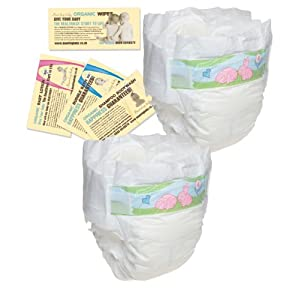 2 Nappies – Bambo Trial Pack Maxi (7 to 18 kg, 15 to 40 lbs)