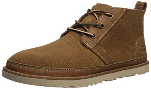UGG Men's Neumel Unlined Leather Sneaker, Chestnut,, used for sale  Delivered anywhere in USA