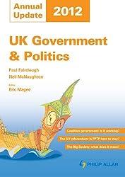 UK Government & Politics Annual Update 2012