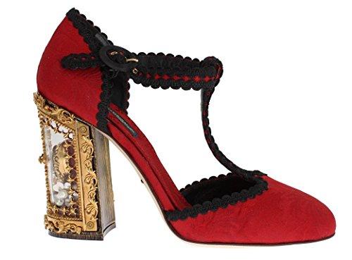 Rouge Escarpins amp; pour Femme Dolce Red Gabbana fSzqKxg
