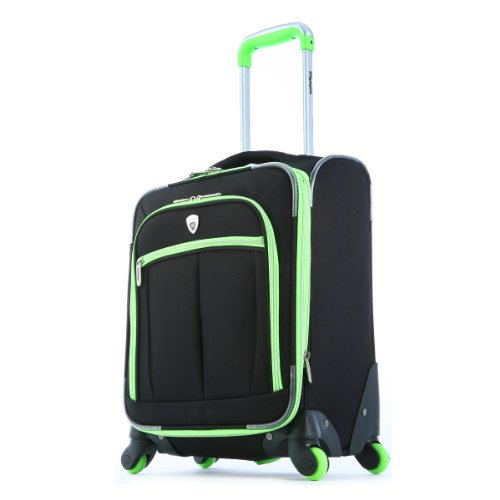 Olympia O-Tron 22 Inch Carry-On, Lime, One Size