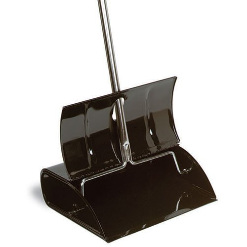 Impact Black Metal Lobby Dust Pan ()