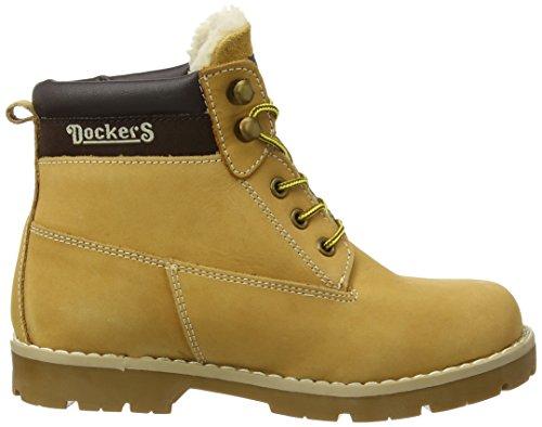 Dockers by Gerli 37VT701-300910 Unisex-Kinder Combat Boots Beige (golden tan 910)
