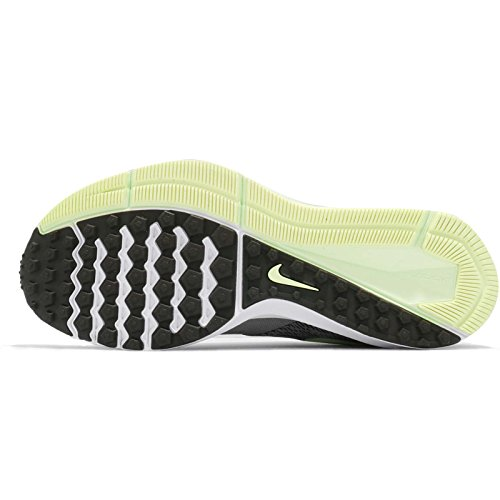 NIKE Mens Air Zoom Winflo 4 Running Shoe (8.5, Dark Stucco/Sequoia-Barely Volt-White)