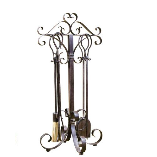 Uttermost Daymeion Fireplace Tools, Set of 5