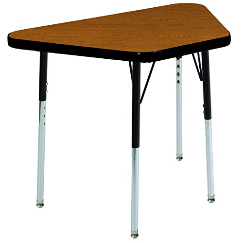 Self Leveling Tables : Ecr kids t mold quot learning trapezoid adjustable