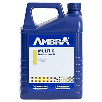 Ambra Aceite Hidraulico Multi F 20w30 5L Tractores y Maquinas Agricolas: Amazon.es: Coche y moto
