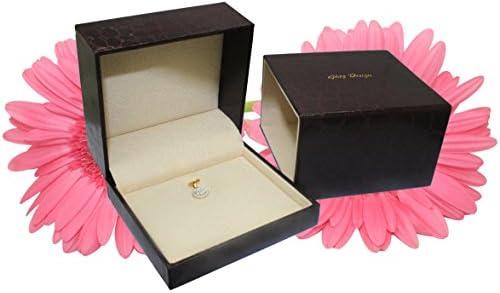 "0.80 ct Circle Diamond Necklace Pendant 14K Gold with 20""Chain (G,VS) Signature Rare Quality"