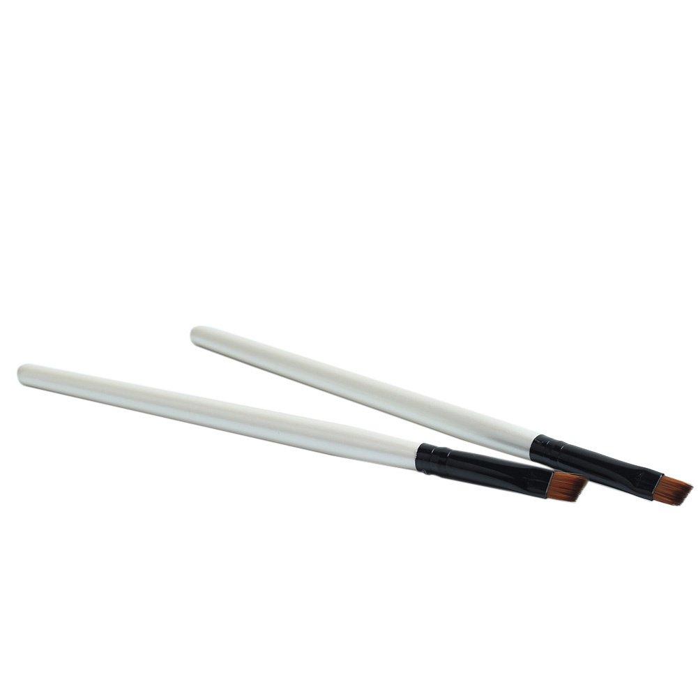 Professional Makeup Tool Eyebrow/Eyeliner Brush for Womens, Pack of 2 styleinside
