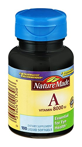 Nature Made Nat Made A Nt 8000Iu 100 Sg, Pack of 3
