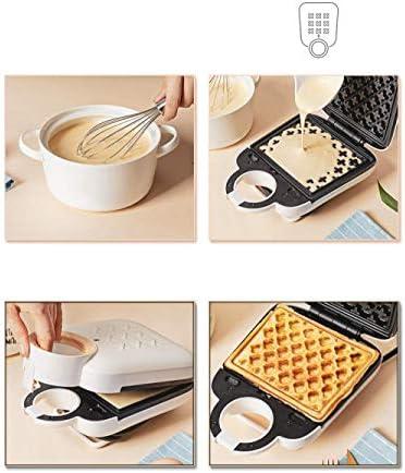 Sandwich Maker Toastie avec sandwich et Gaufrier antiadhésive facile à nettoyer amovible LMMS