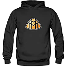 TIANRUN Women's Maybach Car Manufacturer Logo Hoodie Size XXL ColorName