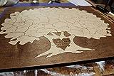 Bordered Elegant Tree Puzzle Guest Book Alternative | Wedding Guest Book