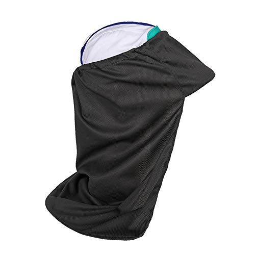 Blue-Ocean-11 - New Summer Outdoor Flap Sun Protection Hat Patchwork Lightweight Foldable Quick Drying Cap with Ear Neck Cover