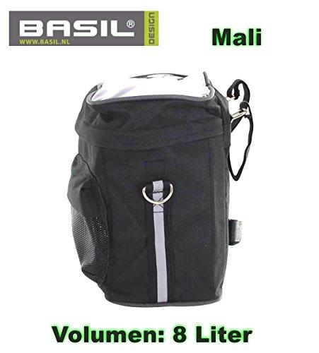 Basil Mali Lenkertasche mit Kartenhalter wassedicht Fahrrad Tasche - 01170605