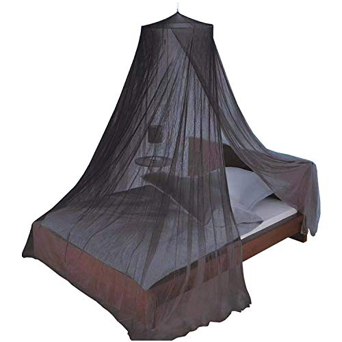 Norbi Bed Canopy Round Dome Princess Mosquito Net Accessories 1 x Cotton Bed Canopy, 1 x Hanger, 2 x Setscrew, 1 x 3M Adhesive Tape