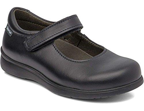Gorilla 30201Pencil–Chaussures de collège pour filles, adaptation - noir - noir, 27 EU