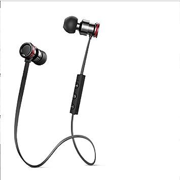 LIUYULIN Auricular Bluetooth Auriculares Inalámbricos Auriculares Deportivos Ejecutando Tapones Auriculares De Botón. A