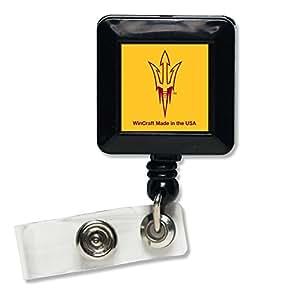 NCAA Arizona State University Retractable Badge Holder, Black