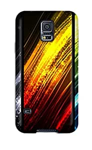 ERXOAuw1798gCjKv Cynthaskey Awesome Case Cover Compatible With Galaxy S5 - Colorful Rays