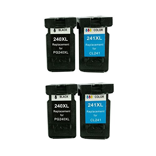 Bavvo® Remanufactured Ink Cartridge for Canon PG-240XL(Bl...