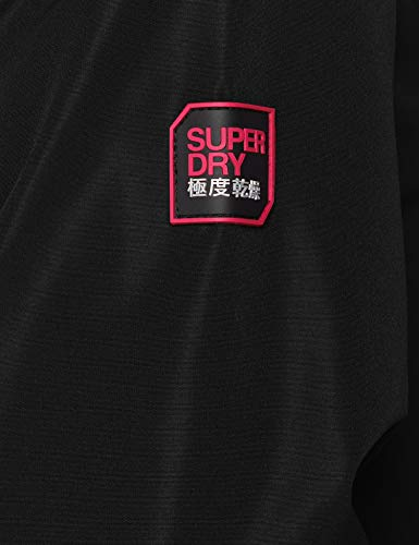 elite Superdry Nero Sportiva Xf8 Donna Black Windcheater Elite Giacca xwwqzAf1