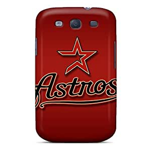 New QNO3799ZCVt Houston Astros Skin Case Cover Shatterproof Case For Galaxy S3
