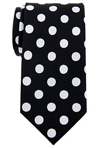 Black Dots Mens Necktie - 6