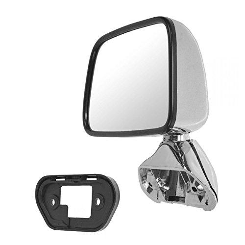 (Manual Chrome Mirror LH Left Driver Side for 87-88 Toyota Pickup Truck 4Runner)