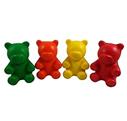 (By dealz365#100) ~ Lot of 12 Squeeze Bears~ Stress ~ relief ~ Fidget Toy for Kids ~