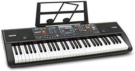 MCRDAE Teclado de Piano Teclado electrónico Sensor de Teclas ...