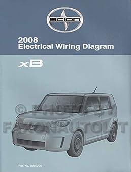 2008 scion xb wiring diagram manual original scion amazon com books Scion xB Body Parts Diagram