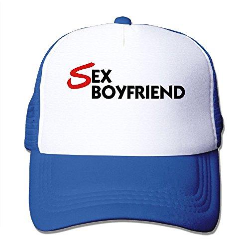 OONONGFU Sex Boyfriend Big Foam Mesh Hat Mesh Back Adjustable (Sex Trucker Hat)