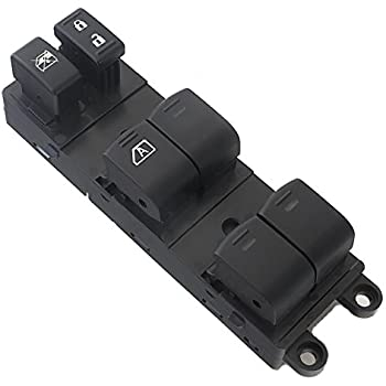 Amrxuts Front Left Driver Side Power Window Master Switch for 05-07 Nissan Xterra 25401-EA003