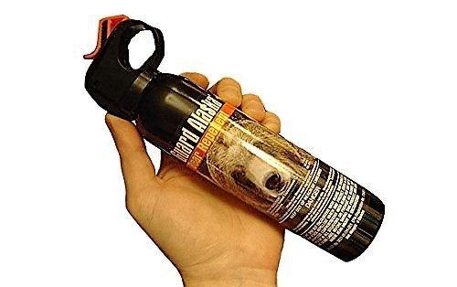 Guard Alaska (Pack of 2) 9 oz. Bear Spray Repellent Firemaster Canister & (Pack of 2) Pepper Enforcement Metal Belt Clip Holsters